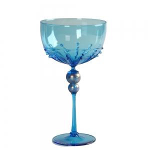 Vetro Vero: Blue Goblet 8