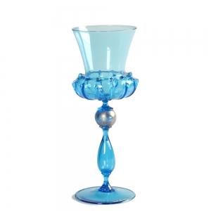 Vetro Vero: Blue Goblet 9