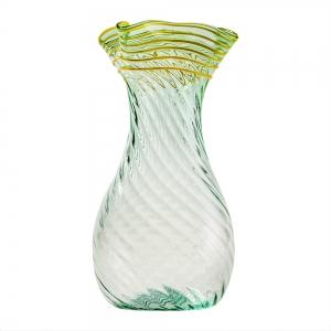 William Gudenrath: Roman Bottle, Green/Yellow