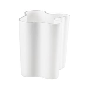 "Alvar Aalto: White 7.75"" Vase"