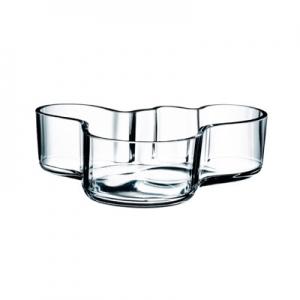 "Alvar Aalto: 3.5"" Mini Bowl, Clear"