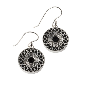 Cynthia Gale: Ennion Jet Earrings