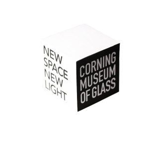 Corning Museum of Glass: Note Cube