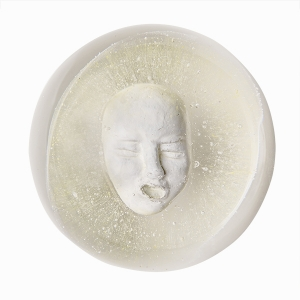 Paul J. Stankard: Self-Portrait Paperweight