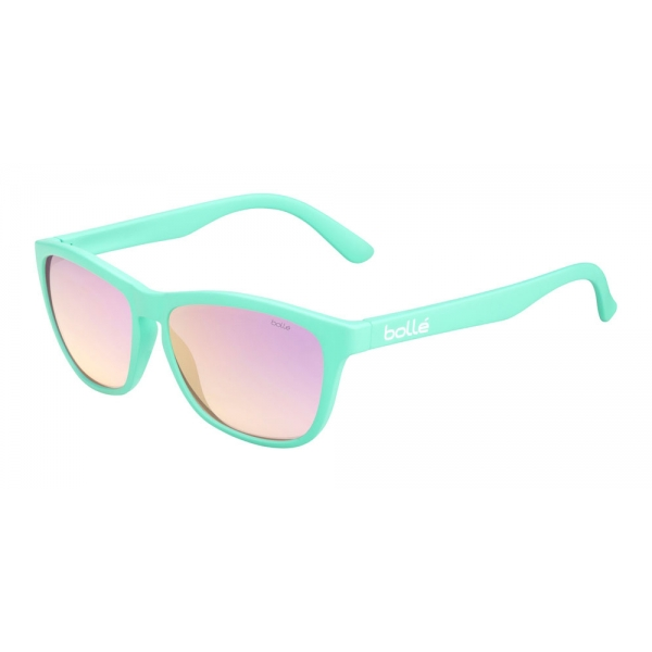 Bolle: 473 Matte Pastel Green TNS Gradient Pink Sunglasses
