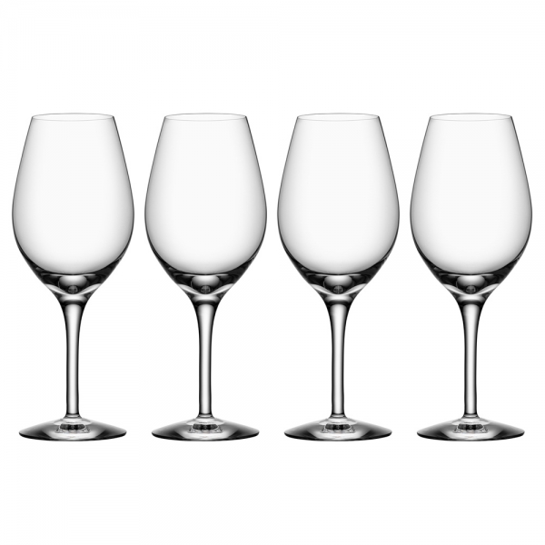 Orrefors: More Wine Glass, Set of 4