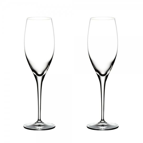 Riedel: Heart to Heart Champagne Glasses, Set of 2