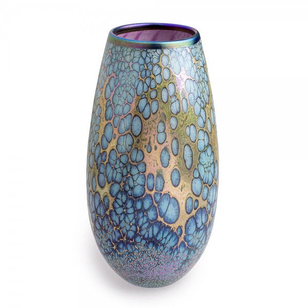 Jack Pine Studio: Webbed Urn, Purple & Blue