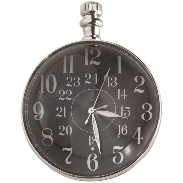 Authentic Models: Eye of Time Clock, Nickel