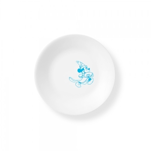Corelle: Mickey Mouse Blue Appetizer Plate
