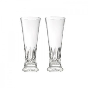 Waterford: Lismore Pilsner Glasses, Set of 2
