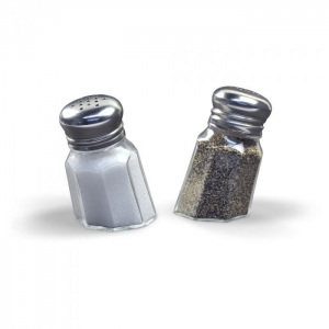 Fred & Friends: Sunk-In Salt & Pepper Shakers
