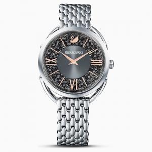 Swarovski: Crystalline Glam Watch, Gray, Stainless Steel