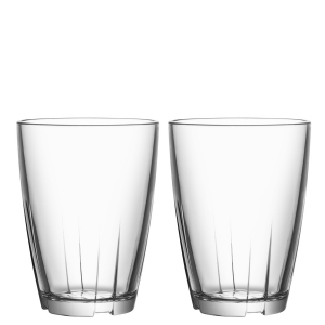 Anna Ehrner: Bruk Clear Large Tumbler, Set of 2