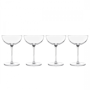 Godinger: Rondo Champagne Coupe, Set of 4