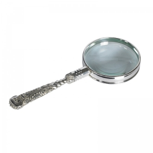 Authentic Models: Rococo Magnifier, Silver