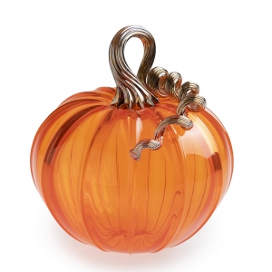 G. Brian Juk: Transparent Orange Pumpkin