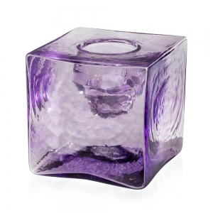 Peter Carter: Votive Candle Cube, Purple
