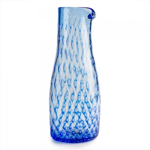 Janet Dalecki: Bubble Pitcher, Blue