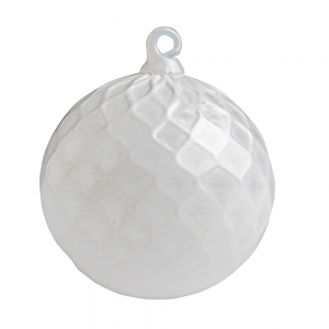 G. Brian Juk: Ornament, White
