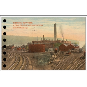 Corning Museum of Glass: A Center of Glass Innovation Set of 12 Postcards