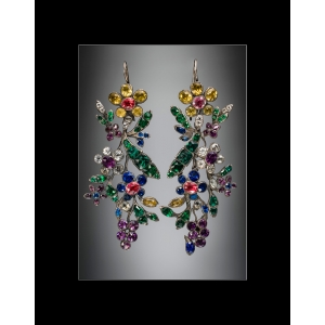 Corning Museum of Glass: Pair of Earrings Print