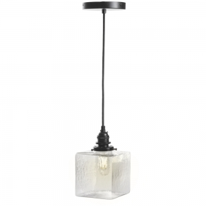 Ember Unlimited: Cubic Pendant Light, Clear