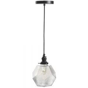 Ember Unlimited: Dodecahedron Pendant Light, Clear