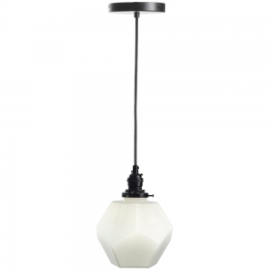Ember Unlimited: Dodecahedron Pendant Light, White