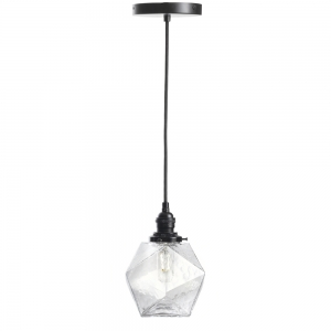 Ember Unlimited: Isohedron Pendant Light, Clear