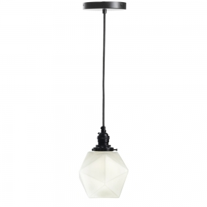 Ember Unlimited: Isohedron Pendant Light, White