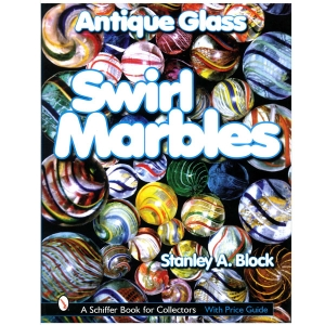 Antique Glass Swirl Marbles