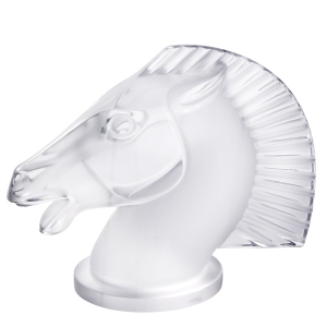 Lalique: Longchamp Paperweight, Clear