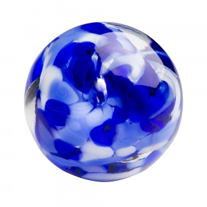 Hands on Glass: Marble, Cobalt